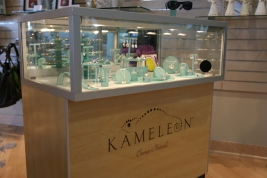 Kameleon display case